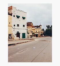 Suburban Houses in Morocco Photographic Print