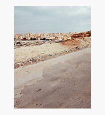 Suburban Neighbourhood in North Africa Photographic Print
