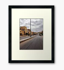 Suburb in Morocco Framed Print