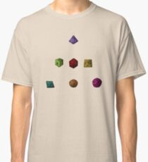 Colourful Polyhedron Dice Classic T-Shirt