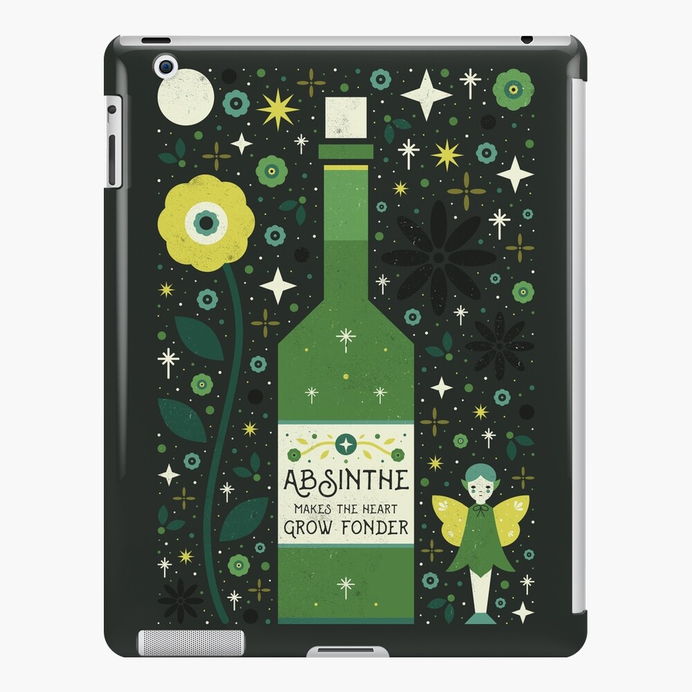 Ajenjo Funda y vinilo para iPad