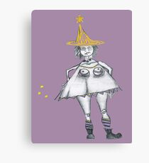 witchy witch Canvas Print
