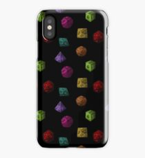 Colourful Polyhedron Dice iPhone Case/Skin