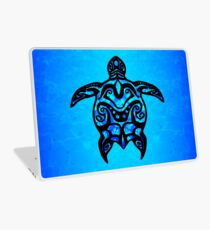 Tribal Turtle Hibiscus Laptop Skin