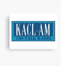 KACL AM – Frasier Crane, 780, Seattle Canvas Print
