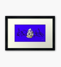 Psyence Fraction Framed Print
