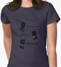 The three doctors Womens Fitted T-Shirt