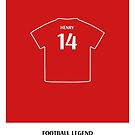 Thierry Henry - Football Legend by springwoodbooks