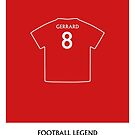 Steven Gerrard - Football Legend by springwoodbooks