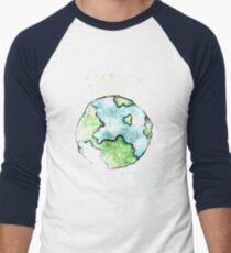 Respect your mother earth day Men's Baseball ¾ T-Shirt