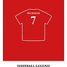 David Beckham - Football Legend by springwoodbooks