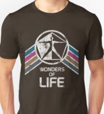 Wonders of Life Logo in Vintage Distressed Style T-Shirt
