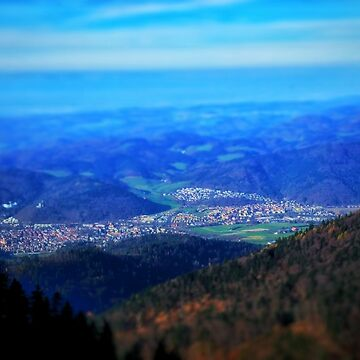 Black Forest Mountain View by 1stKarkan