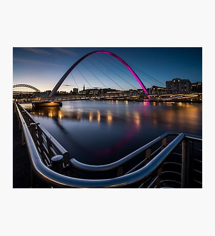 The Millennium Bridge Gateshead Photographic Print