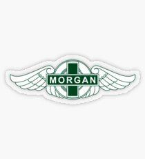 Morgan Motor Car Company Transparent Sticker