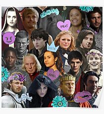 Merlin Collage Poster