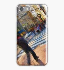 Colorful NYC Street Scene iPhone Case/Skin