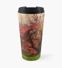 Blooming cherry blossoms in Central Park, NYC Travel Mug