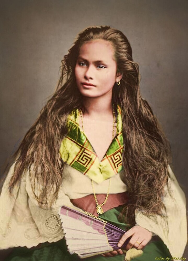 Vintage Woman from the Philipines by PatSeg