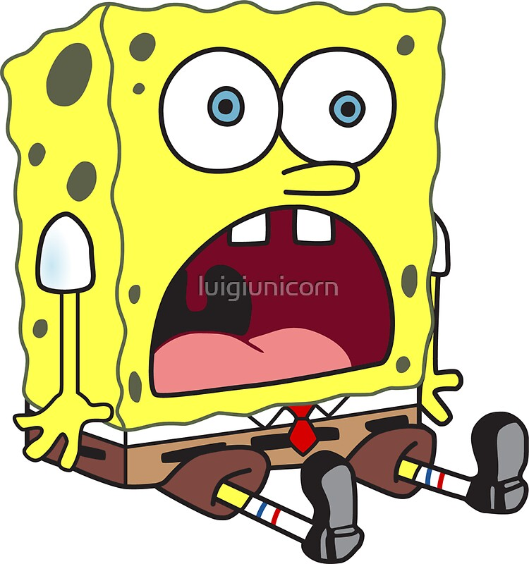spongebob surprised face wwwimgkidcom the image kid
