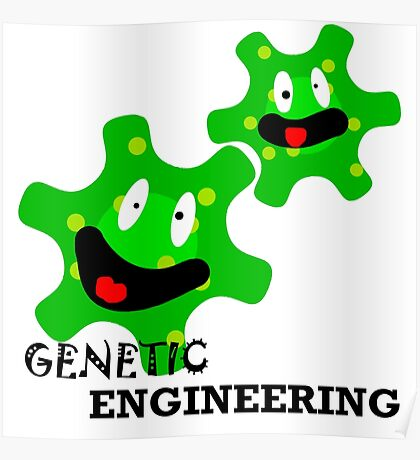 genetic engineering posters redbubble. Black Bedroom Furniture Sets. Home Design Ideas