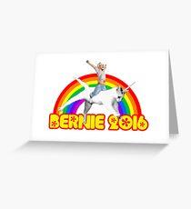 Bernie Unicat Greeting Card