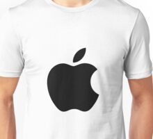 Apple black Unisex T-Shirt