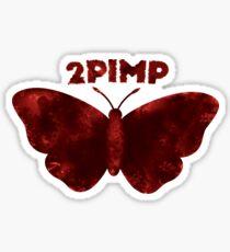 2 Pimp A Butterfly Alternate Logo Sticker
