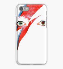 David Bowie Aladdin Sane Lightning Bolt iPhone Case/Skin
