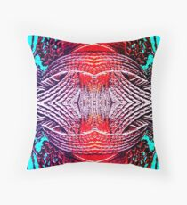 Red Crystal Throw Pillow