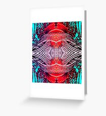 Red Crystal Greeting Card
