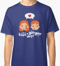 Kiss a Ginger! Classic T-Shirt