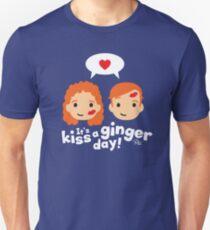 Kiss a Ginger! T-Shirt