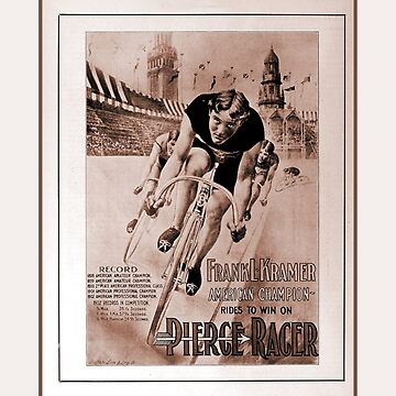 1903 American cycling champion historical ad by aapshop