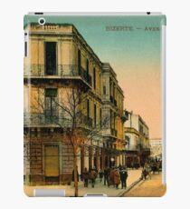 Vintage 1900s Bizerte Tunisia, Avenue de France iPad Case/Skin