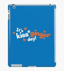 Kiss a Ginger! iPad Case/Skin