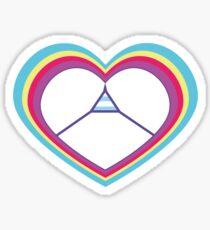 Ich ich ich! Symbol Sticker