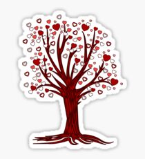 Heart Tree (2) Sticker