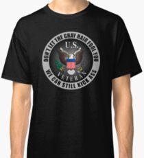 Gray Haired Veteran Classic T-Shirt