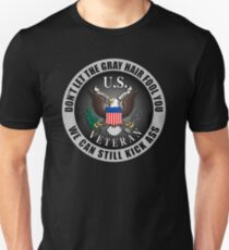 Gray Haired Veteran T-Shirt