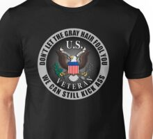 Gray Haired Veteran Unisex T-Shirt