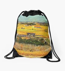 Harvest at La Crau Drawstring Bag