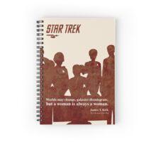 Red Star Trek Crew Spiral Notebook