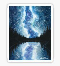Skyscape - Vivid Blue Milky Way Sticker