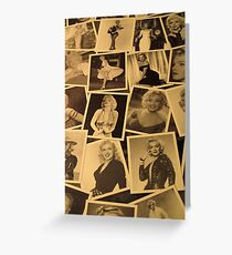 Marilyn Collage Greeting Card