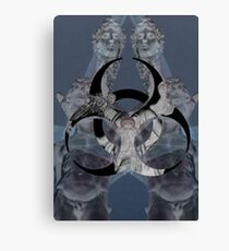 Off with his Head Canvas Print