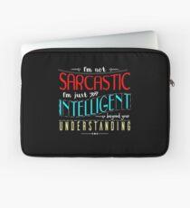 I'm not sarcastic Laptop Sleeve