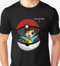You Got You! Pokemon Trainer Boy (In Black Background) T-Shirt