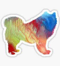 Samoyed Dog Art Sticker