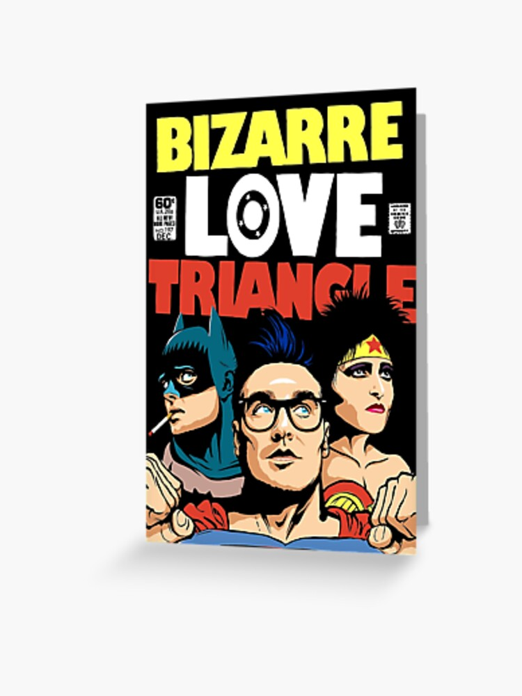 Butcher Billy s Bizarre Love Triangle The Post Punk Edition iphone case